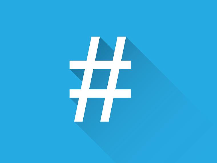 social hashtag, use of hashtag