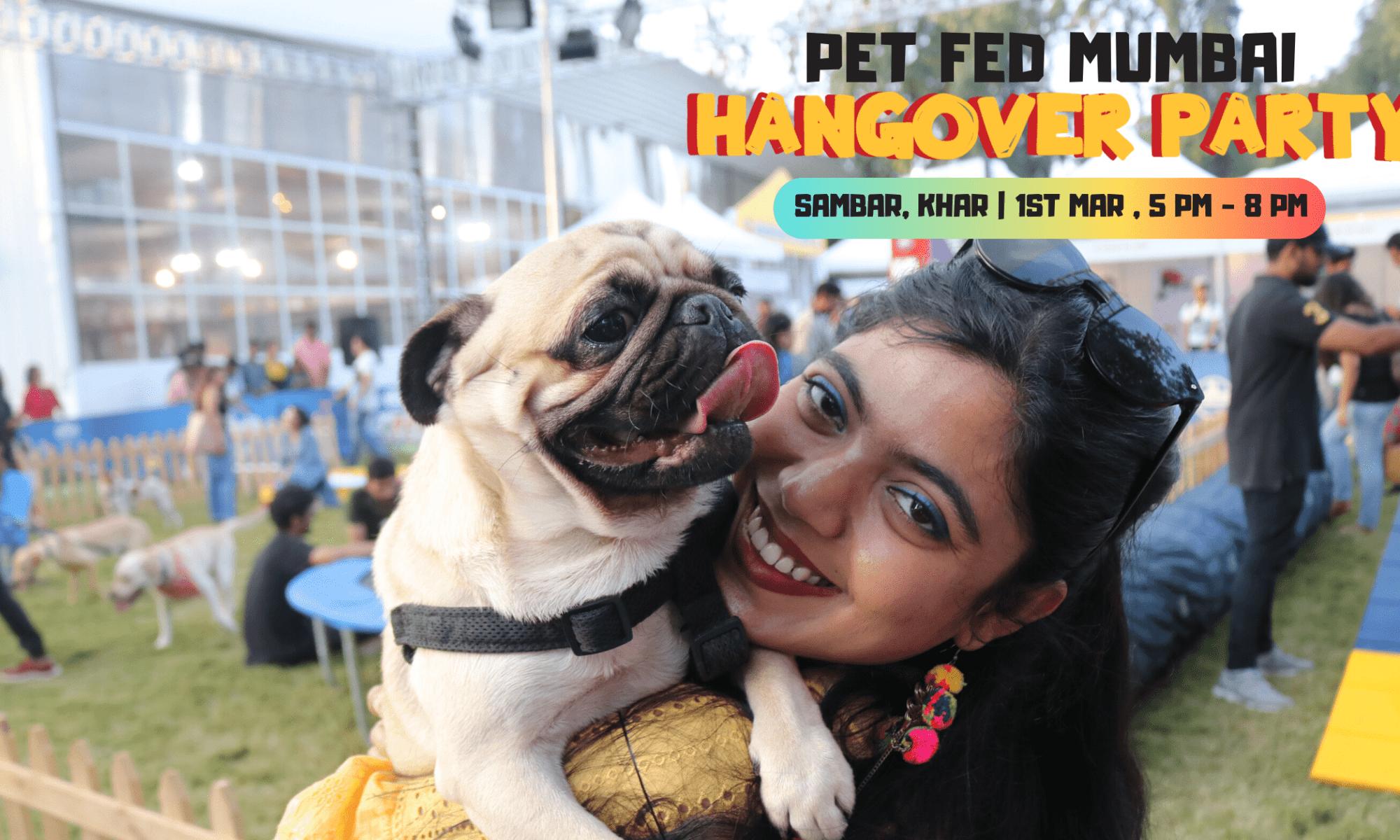 Pet Fed Hangover Party at Mumbai    Monkoodognews