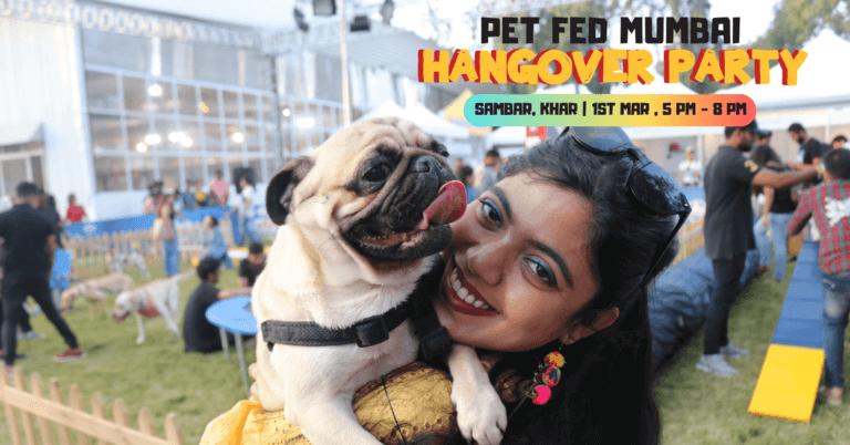 Pet Fed Hangover Party at Mumbai || Monkoodognews