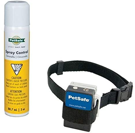 PetSafe Spray Bark Dog Collar, Anti-Bark Device for Dogs 8 lb. and Up, Fits Up to 27 in. Neck Circumference