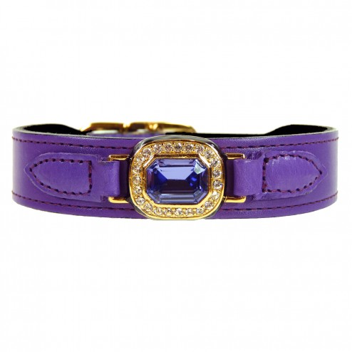Haute Couture Octagon in Lavender and Tanzanite