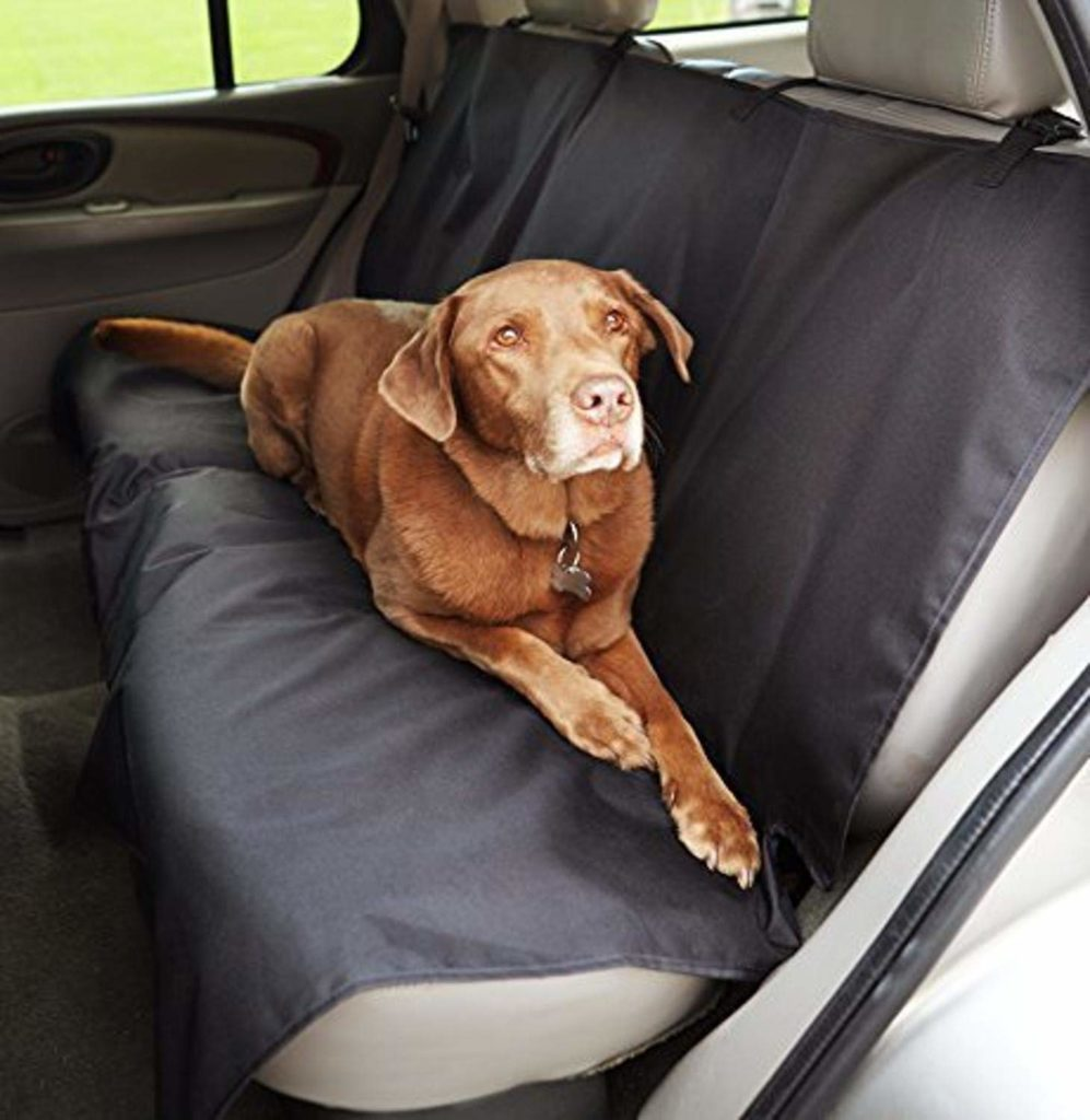 Waterproof Car Back Bench Seat Cover Protector for Pets