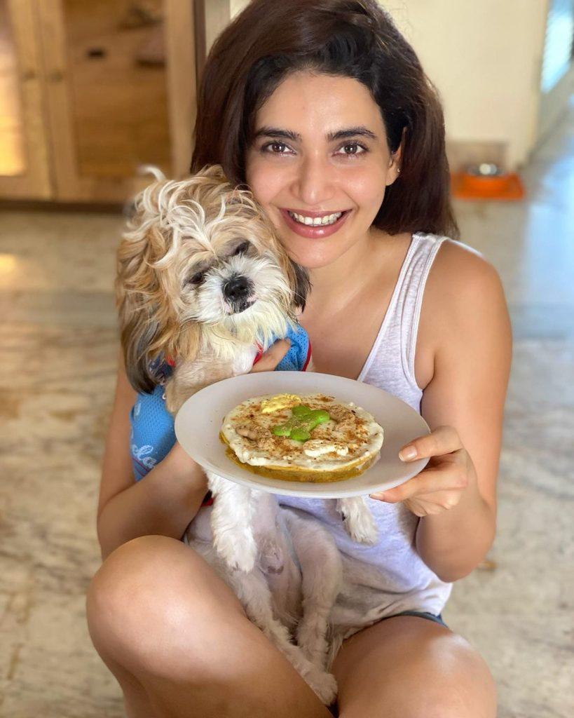 Karishma Tanna With Koko