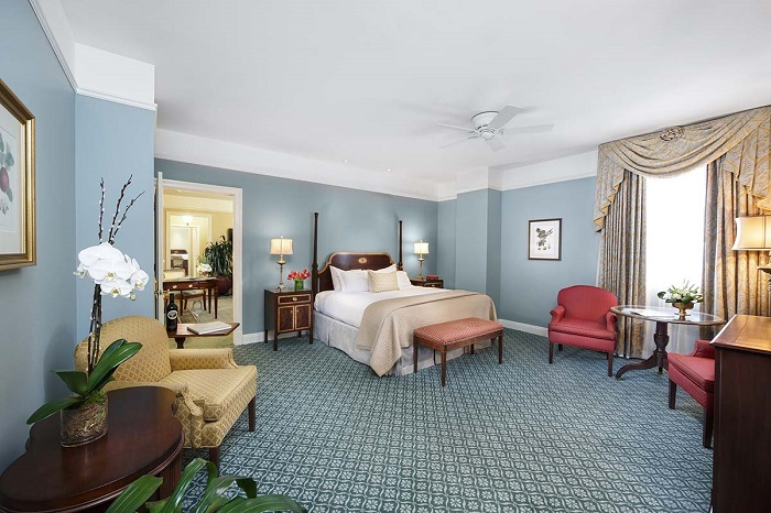 A Bedroom at The Hermitage Hotel