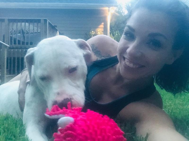 Deaf Dog Adopted by Speech PathologistCourtesy of Best Friends Animal Society