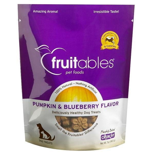 Pumpkin & Blueberry Flavor Crunchy Dog Treats