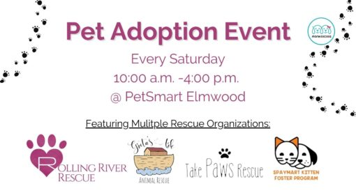 Pet Adoption Event By Rolling River Rescue