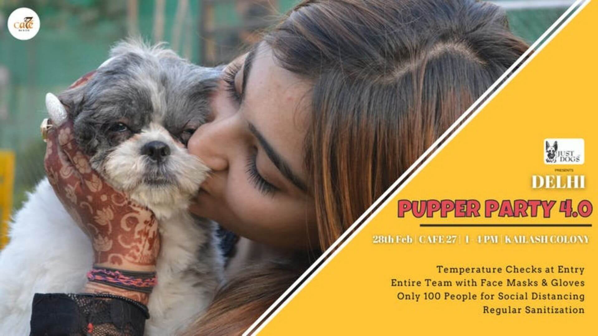 Delhi Pupper Party 4.0 by Petfed and Monkoodog dogsevent