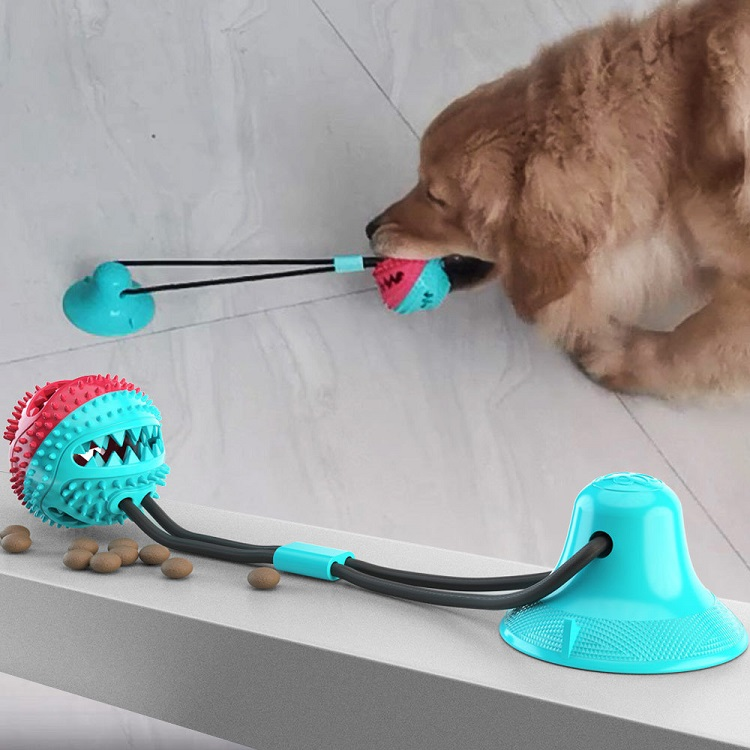 Sweenaly Pet Bite Toy Multifunction Pet Molar Bite Toy