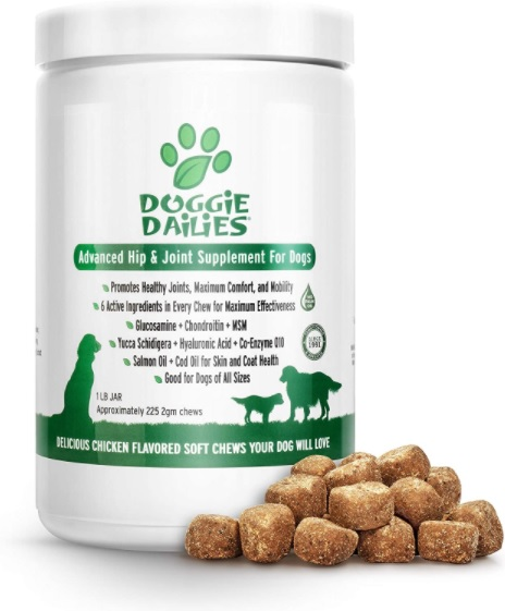 Doggie Dailies Advanced Joint Supplement