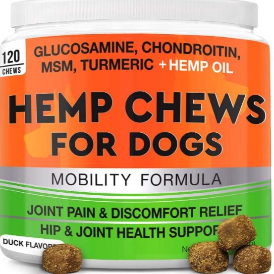 Hemp Hip & Joint Supplement for Dogs By Goodgrowlies