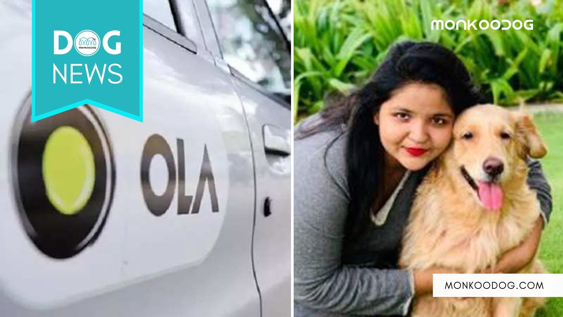 Rude Ola Cab Driver, tells the dog owner to let her dog die.