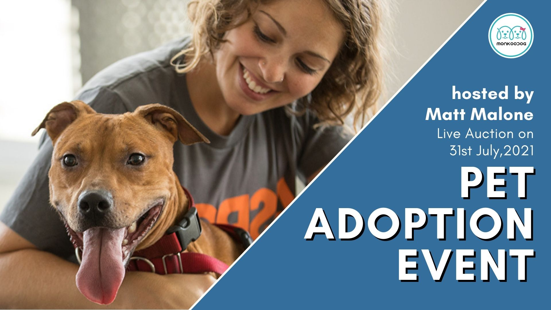 Pet Adoption Event With a Day of Outdoor Fun and Music.