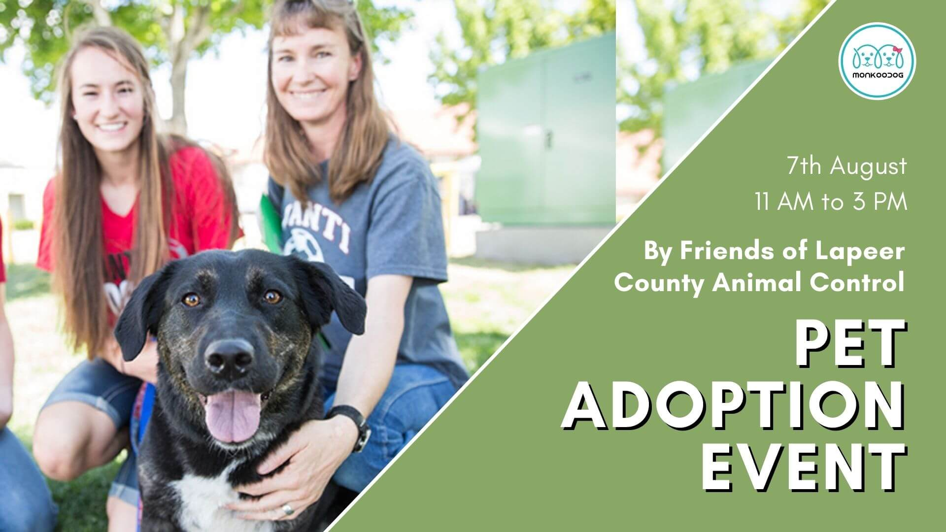 Upcoming Pet Event Pet Adoption Event By Friends of Lapeer County Animal Control
