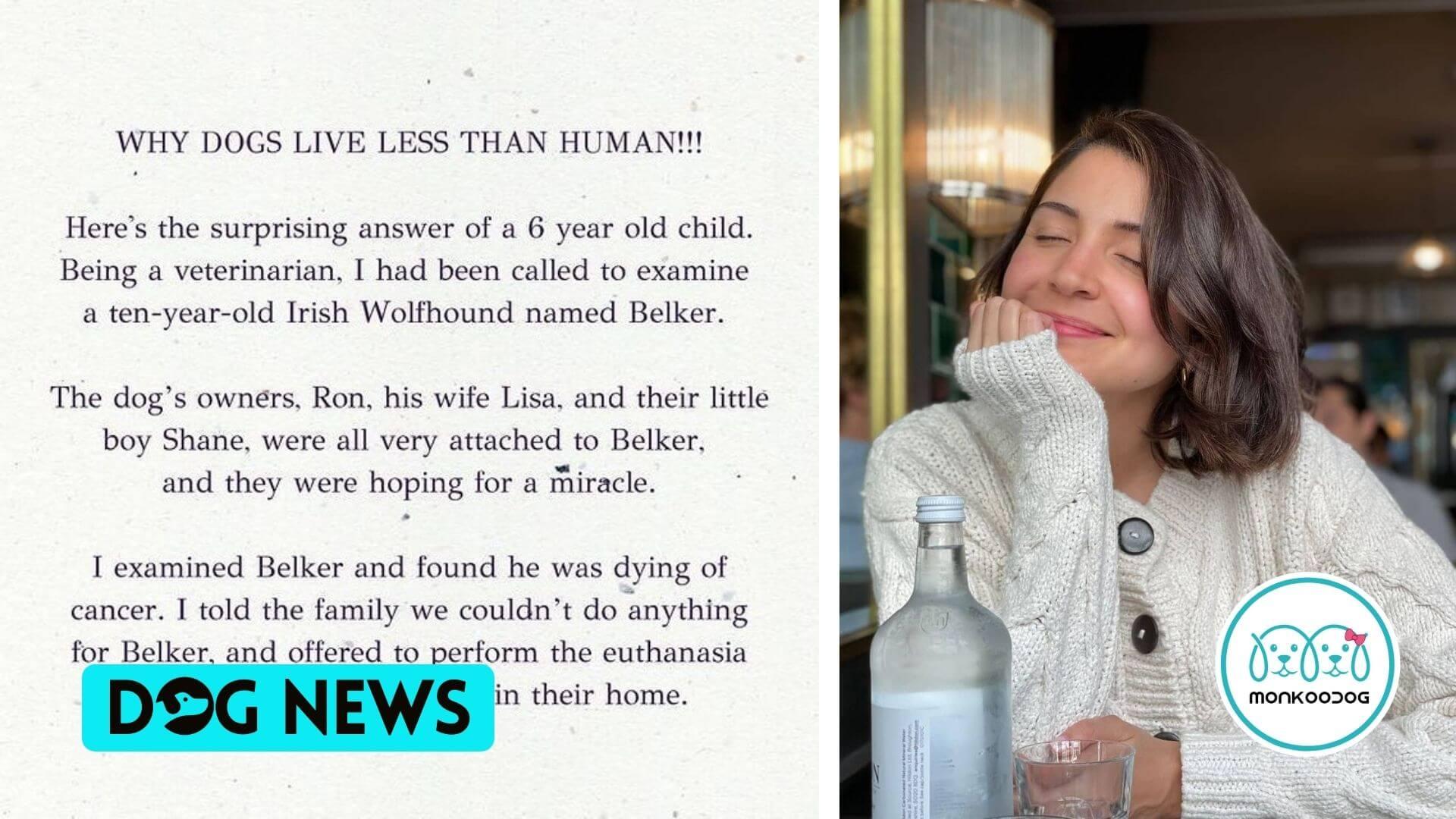 Anushka Sharma heartfelt post for pet owners